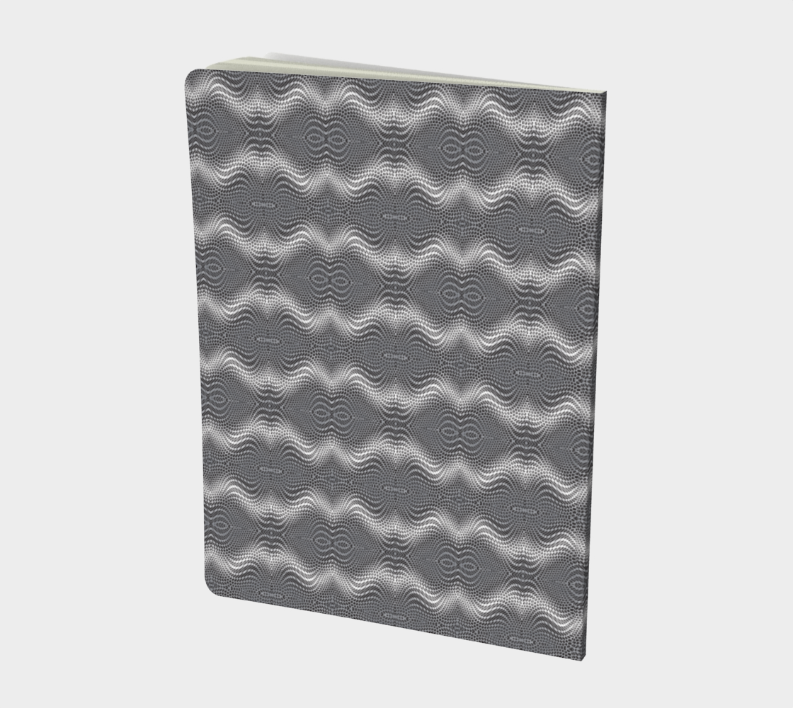 Honeycomb Silver Swirl preview #2