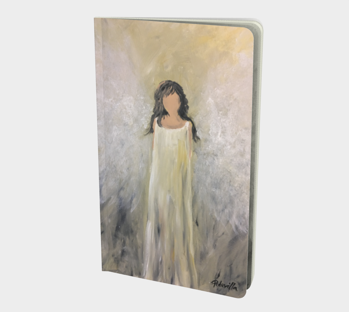 Angel Light Small Sketchbook by Karen Pedevilla preview #1