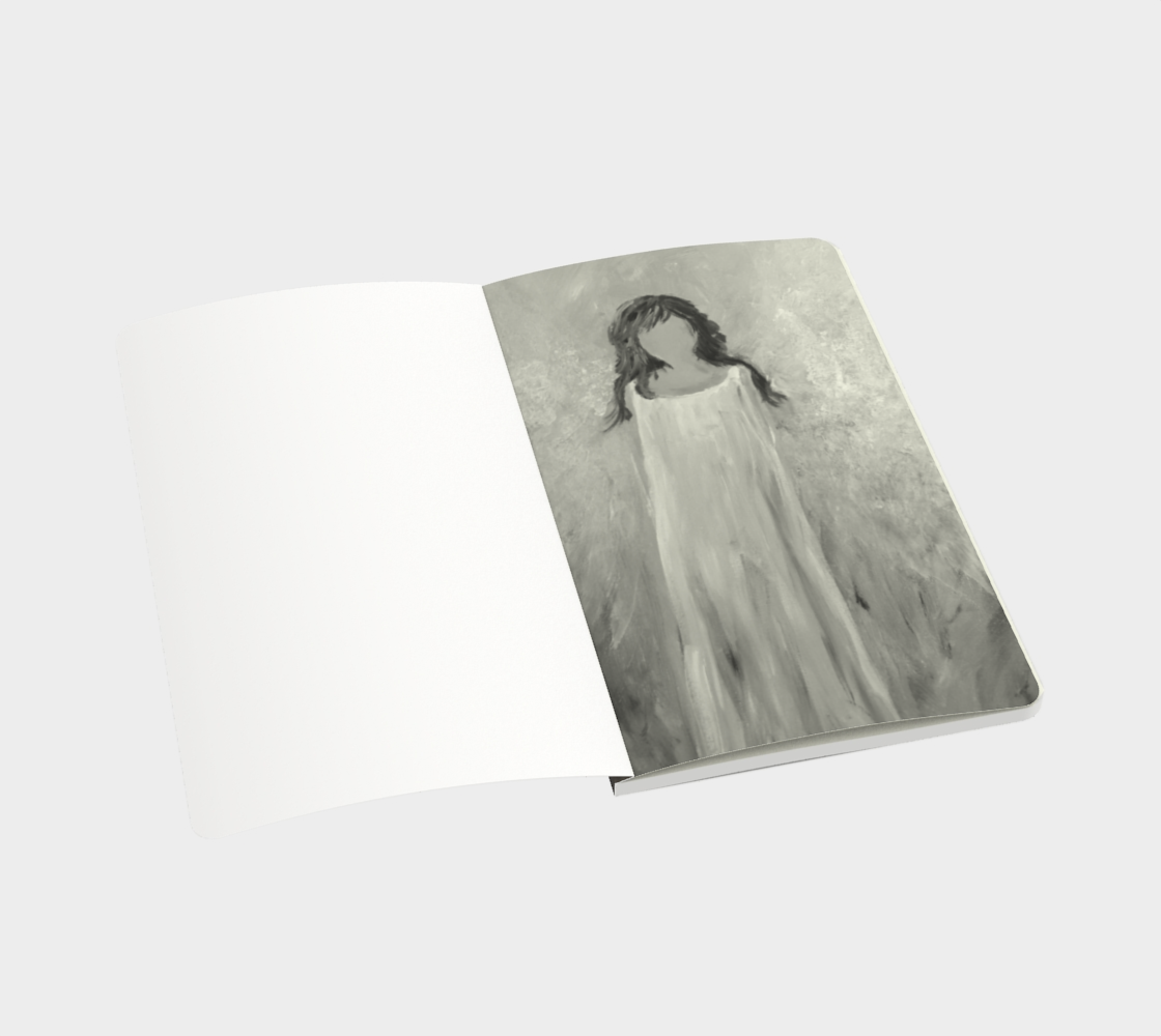 Angel Light Small Sketchbook by Karen Pedevilla preview #3