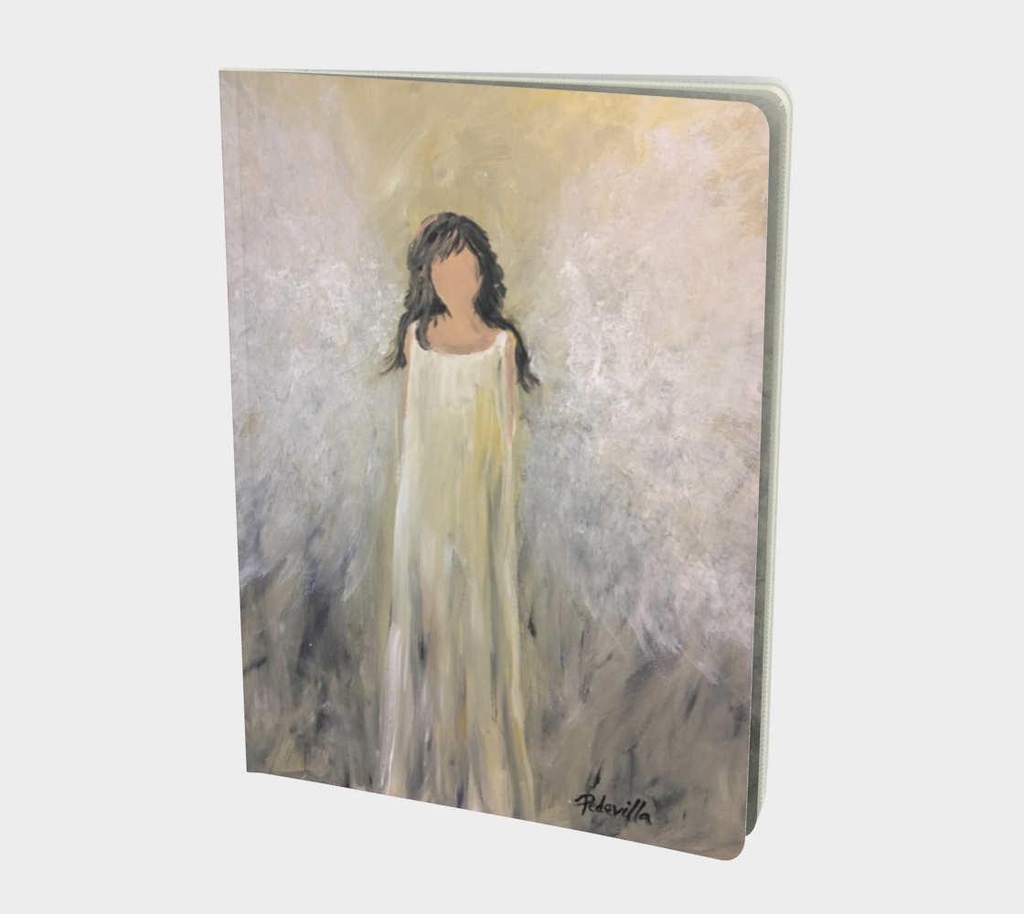 Angel Light Large Sketchbook by Karen Pedevilla preview