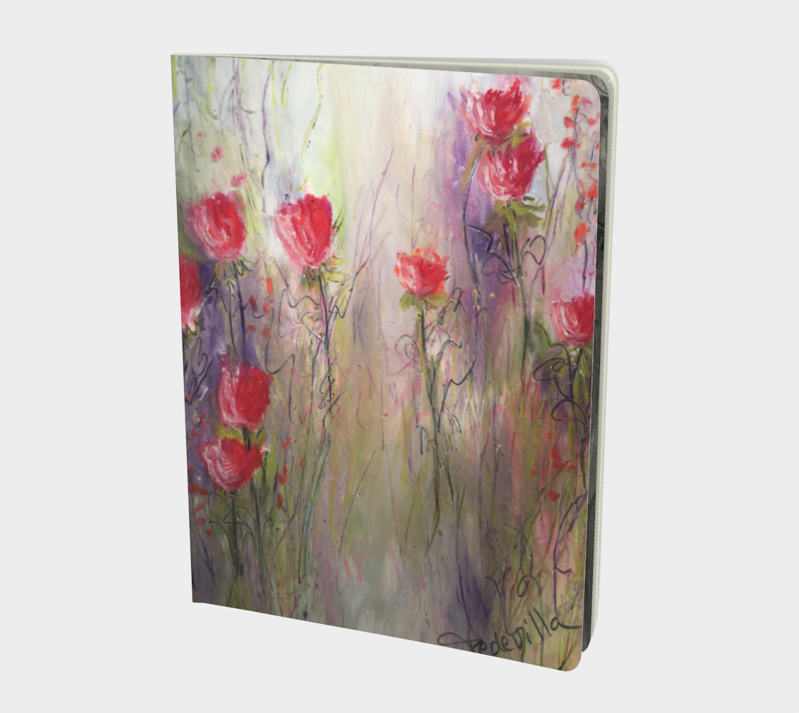 Serenity Large Sketchbook by Karen Pedevilla preview