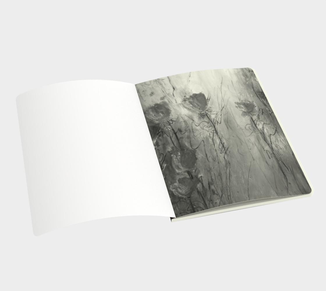 Serenity Large Sketchbook by Karen Pedevilla preview #3