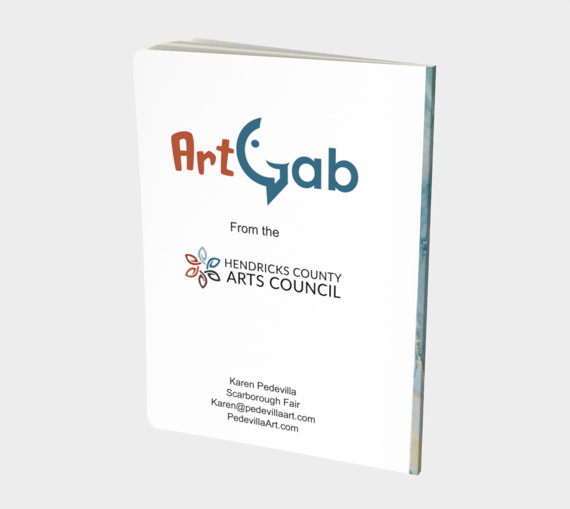 Scarborough Fair Large Sketchbook by Karen Pedevilla preview #2