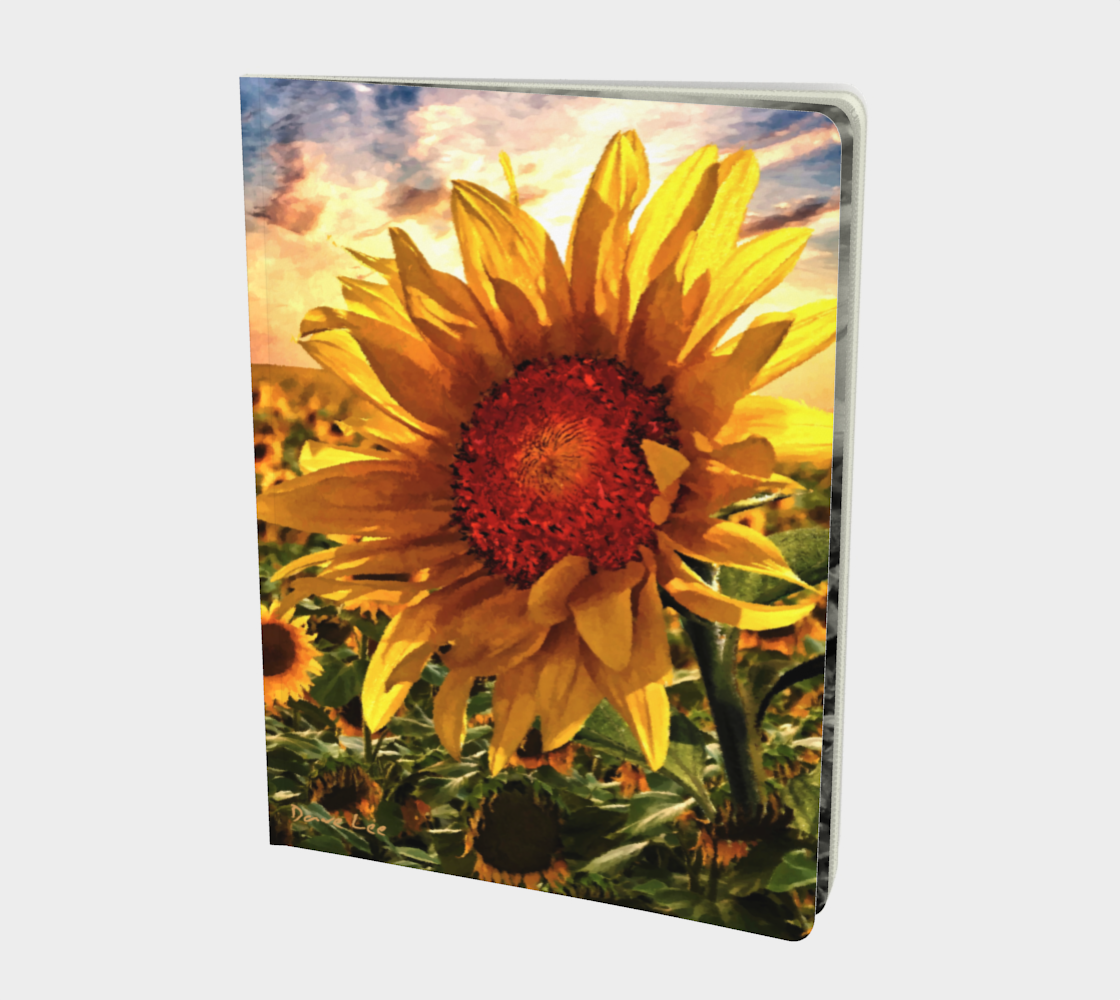 Sunflower Sunrise Sketchbook by Dave Lee preview