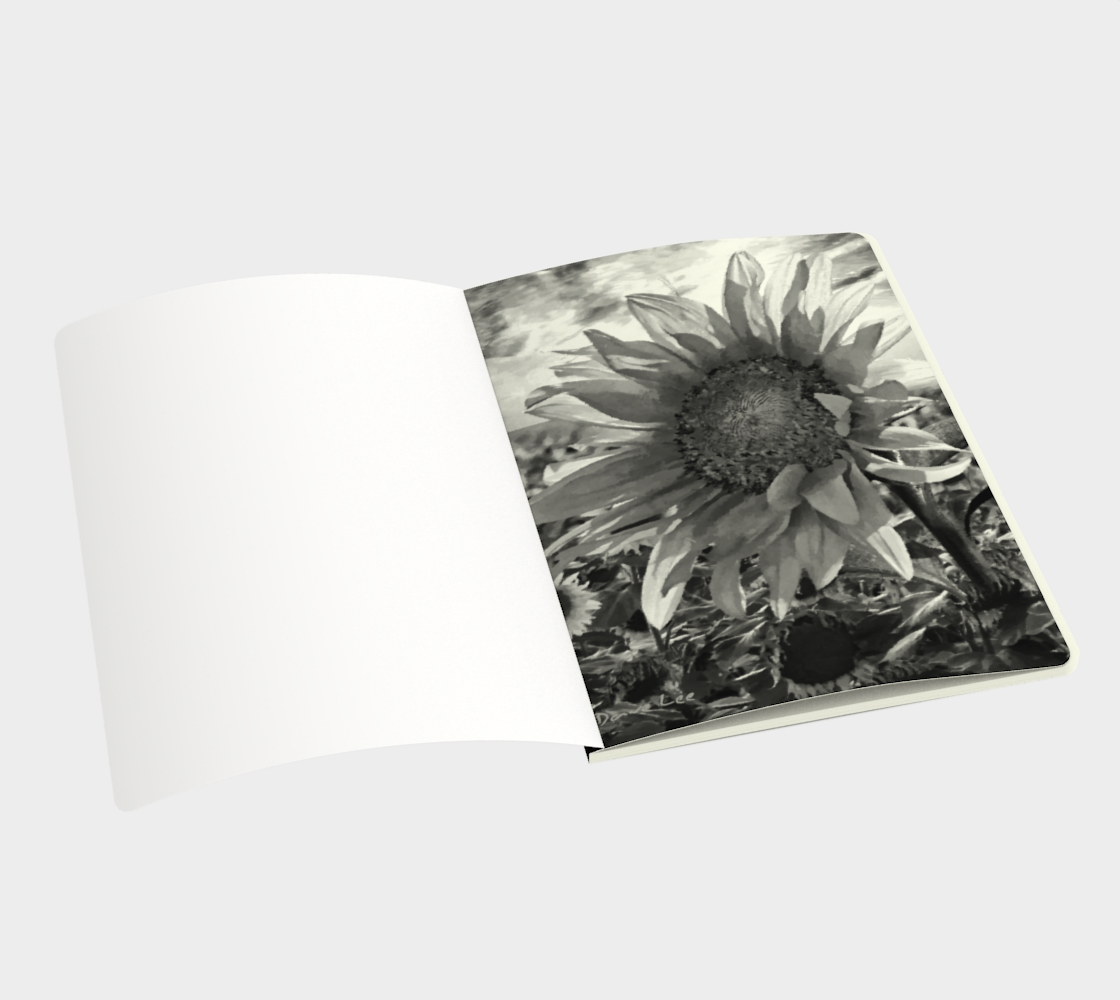Sunflower Sunrise Sketchbook by Dave Lee preview #3