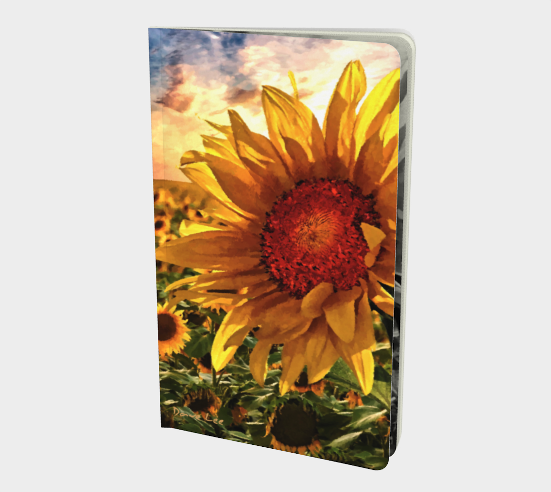 Sunflower Sunrise Small Sketchbook By Dave Lee preview