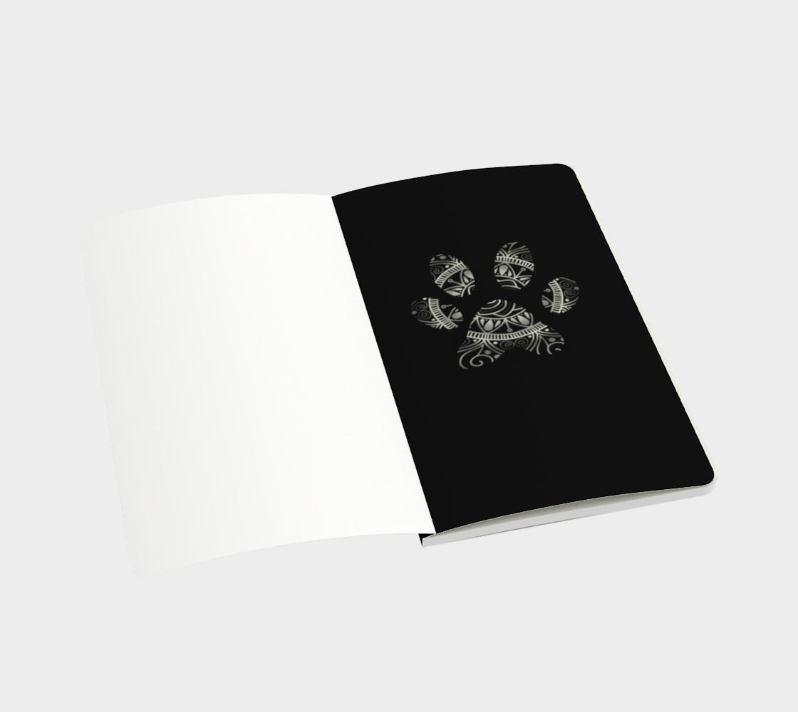 Aperçu de Paw Print Notebook  #3