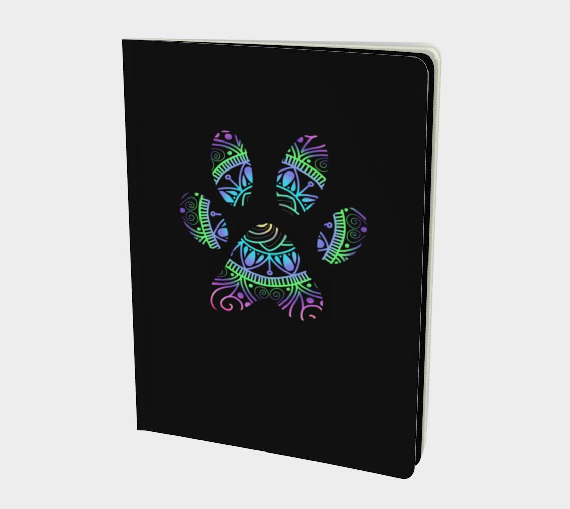 Aperçu de Paw Print Notebook