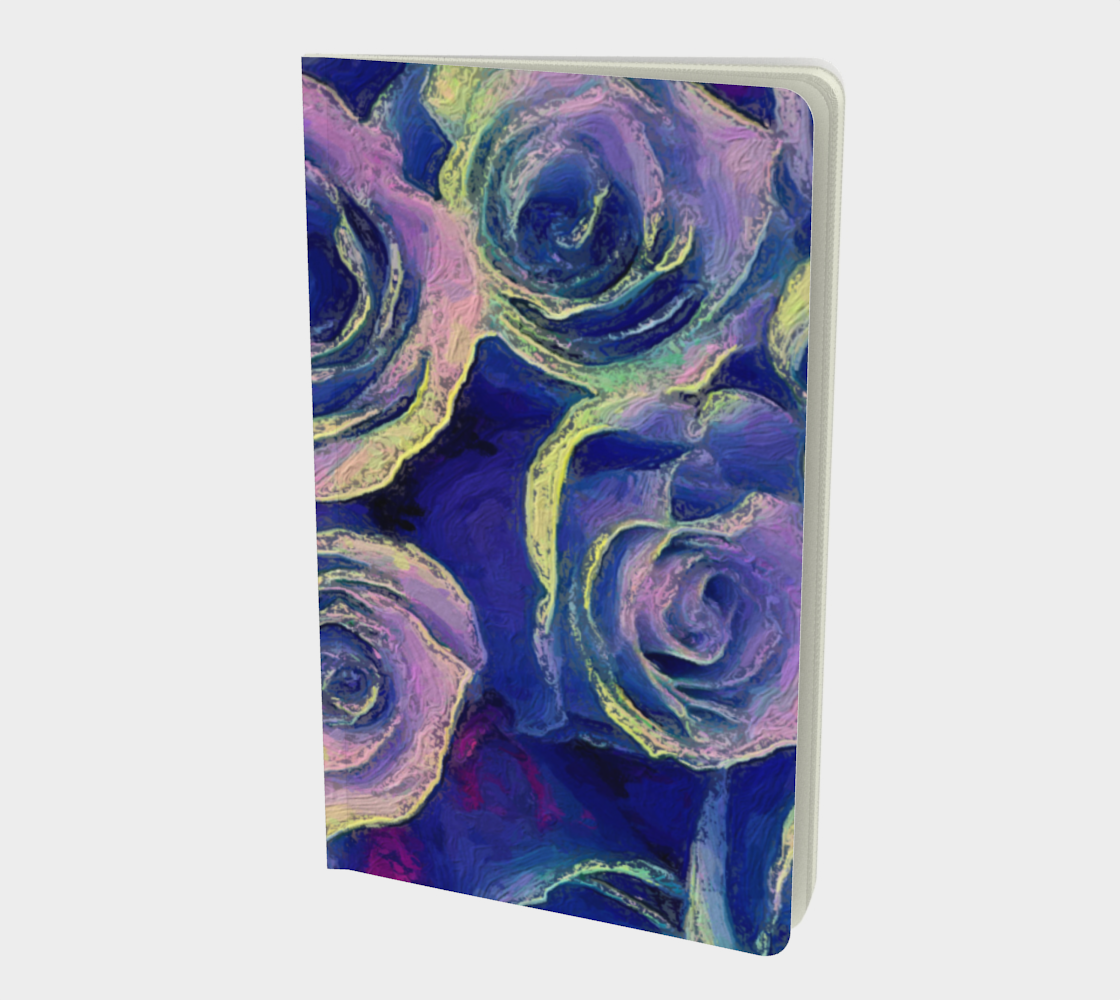 Purple Roses Sketchbook by Bryan Bromstrup preview