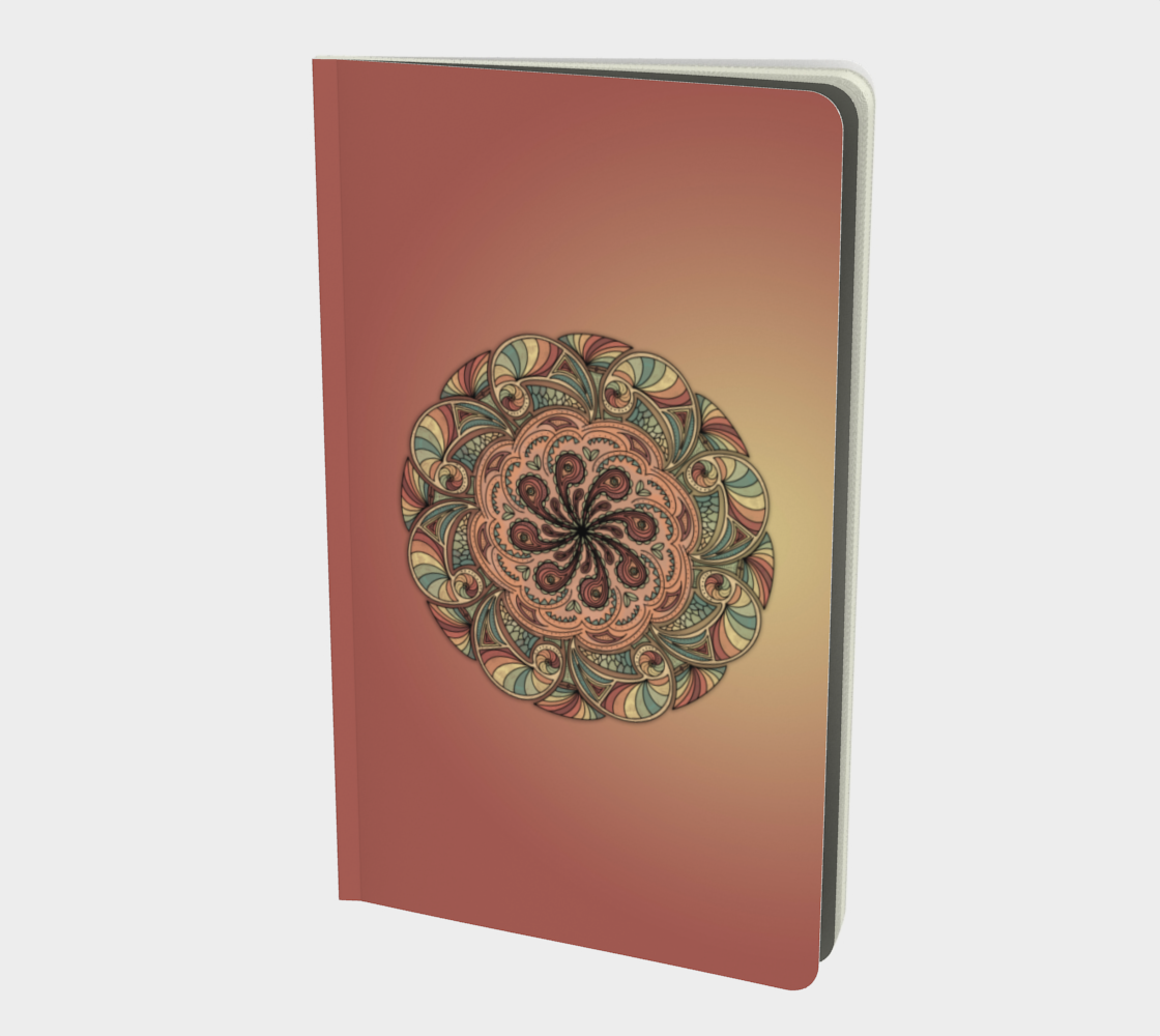 Moroccan Shells Mandala - Notebook Sm preview
