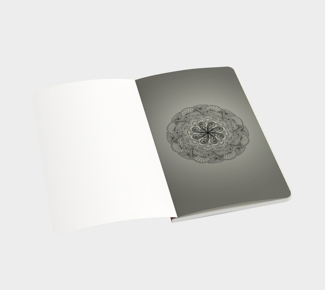 Moroccan Shells Mandala - Notebook Sm preview #3
