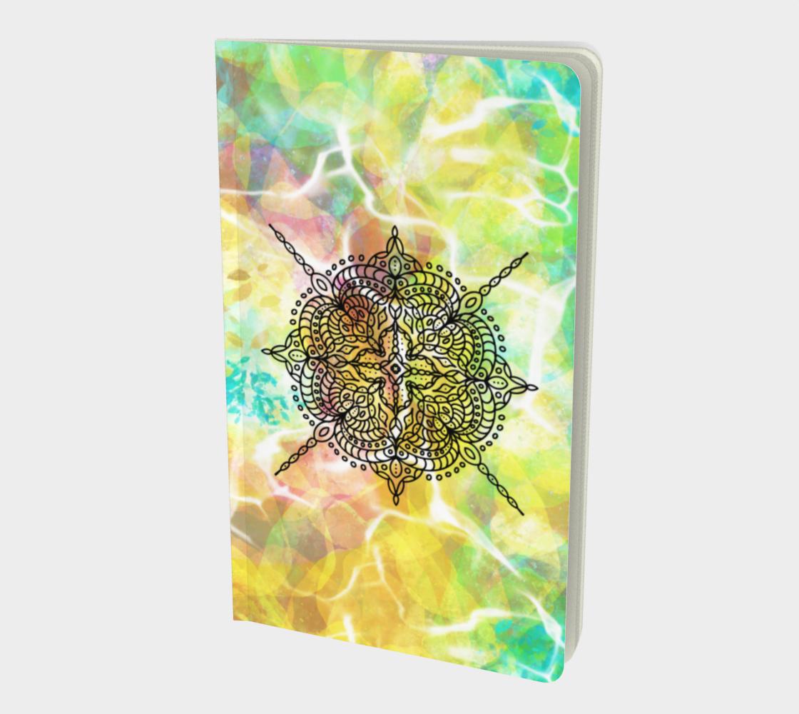 Mandala in Spring - Notebook preview