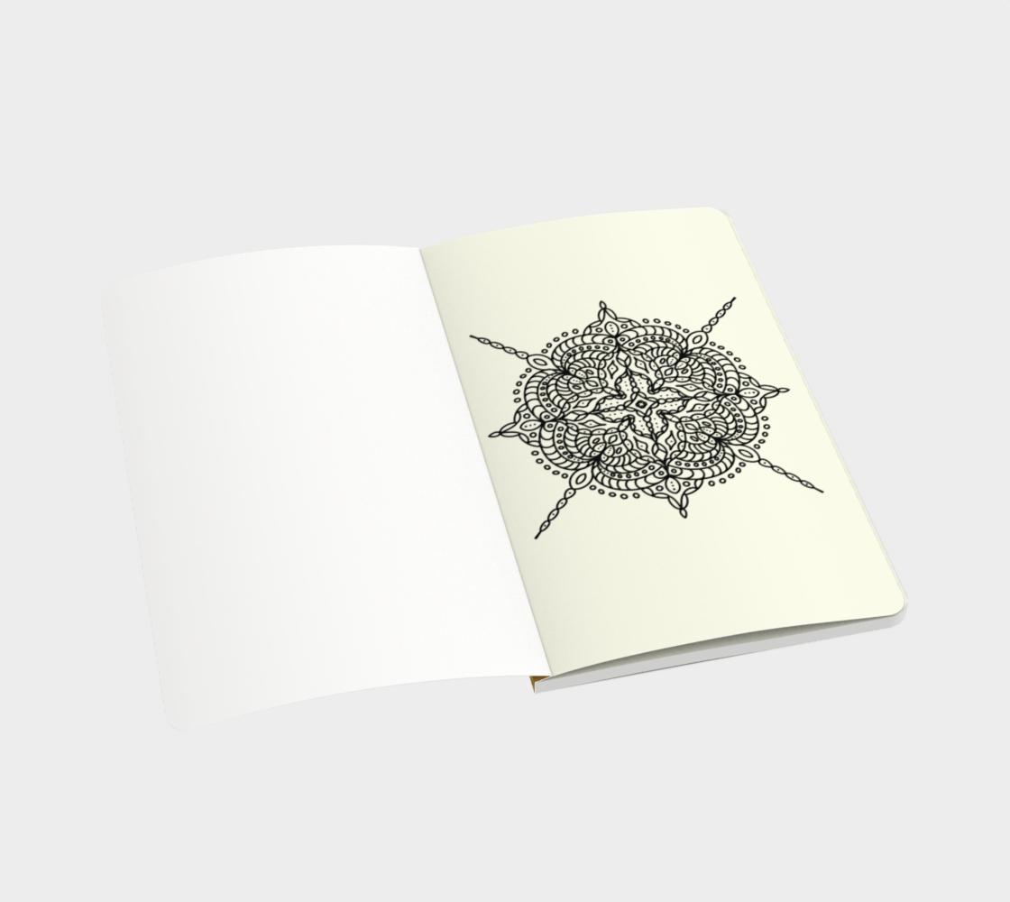 Mandala in Spring - Notebook preview #3