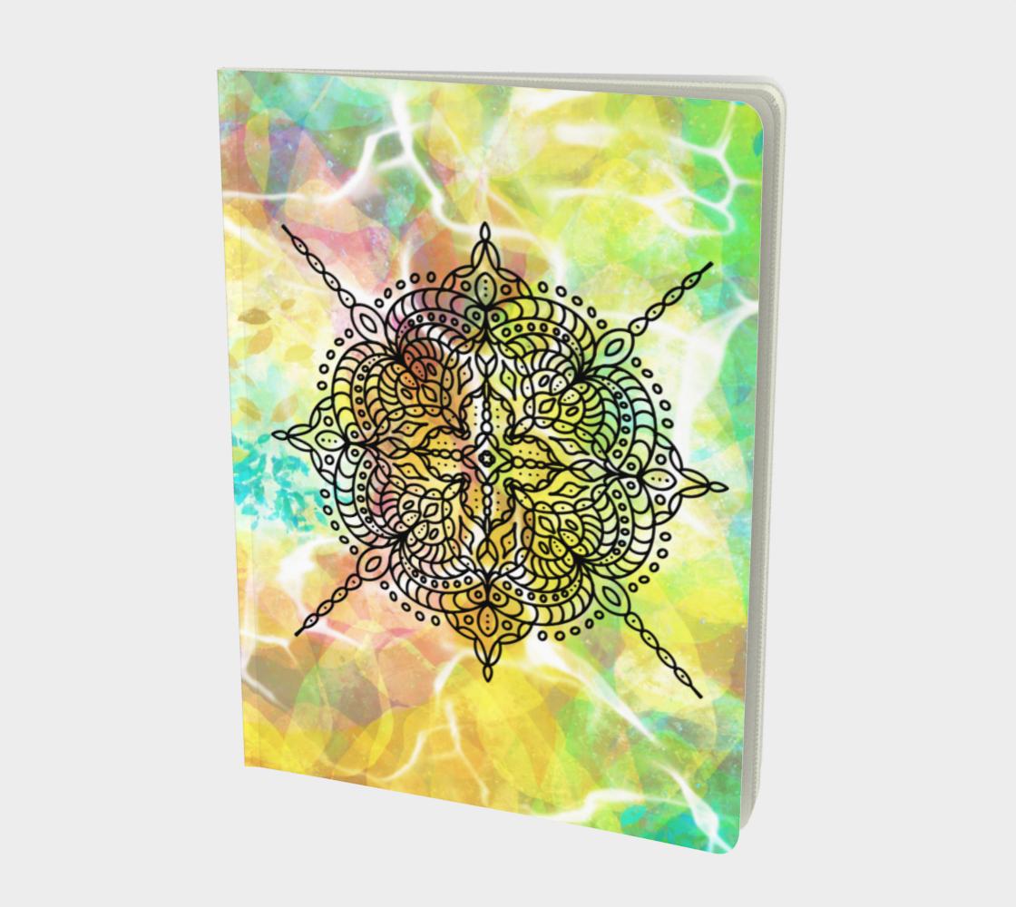 Mandala in Spring - Notebook Lg preview
