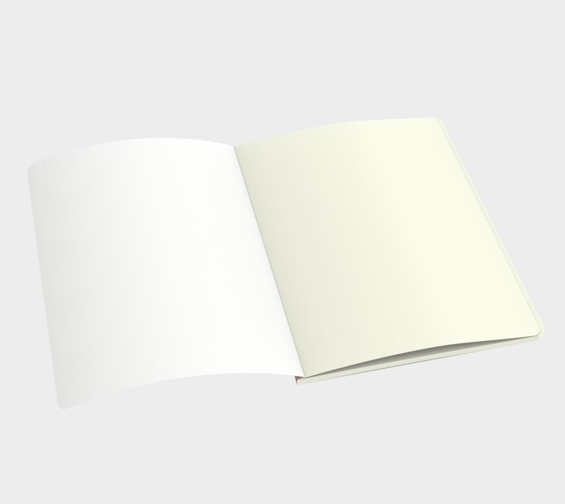 Aperçu de Pink Musical Large Notebook #3