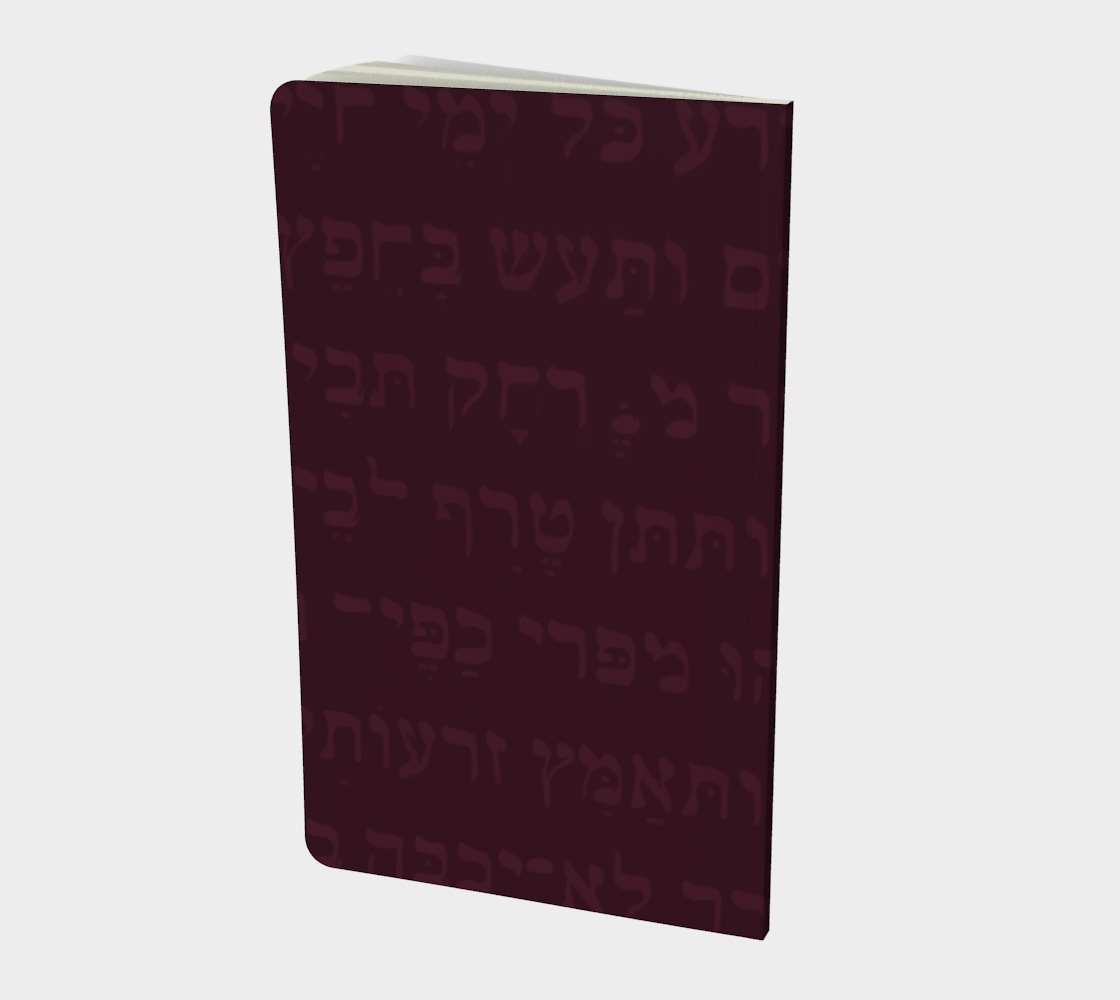 Eshet Chayil: Woman of Valor, notebook (image inside front cover) preview #2