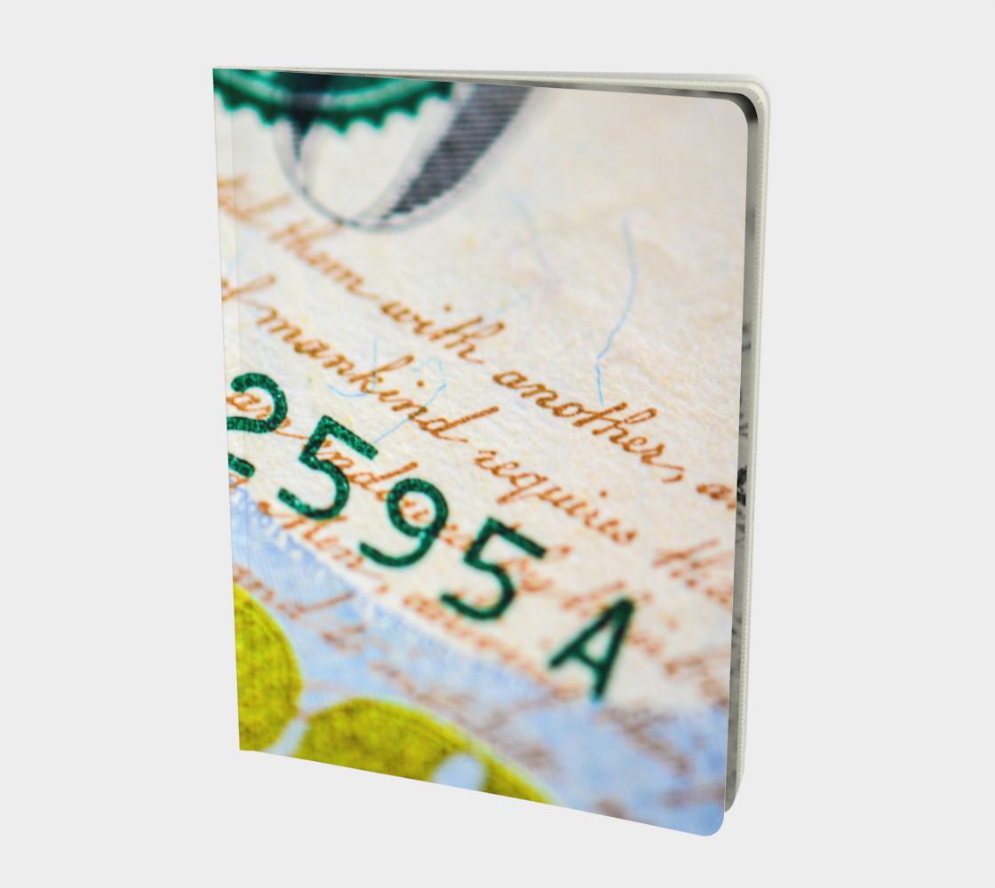 Aperçu de Money Down Large Notebook
