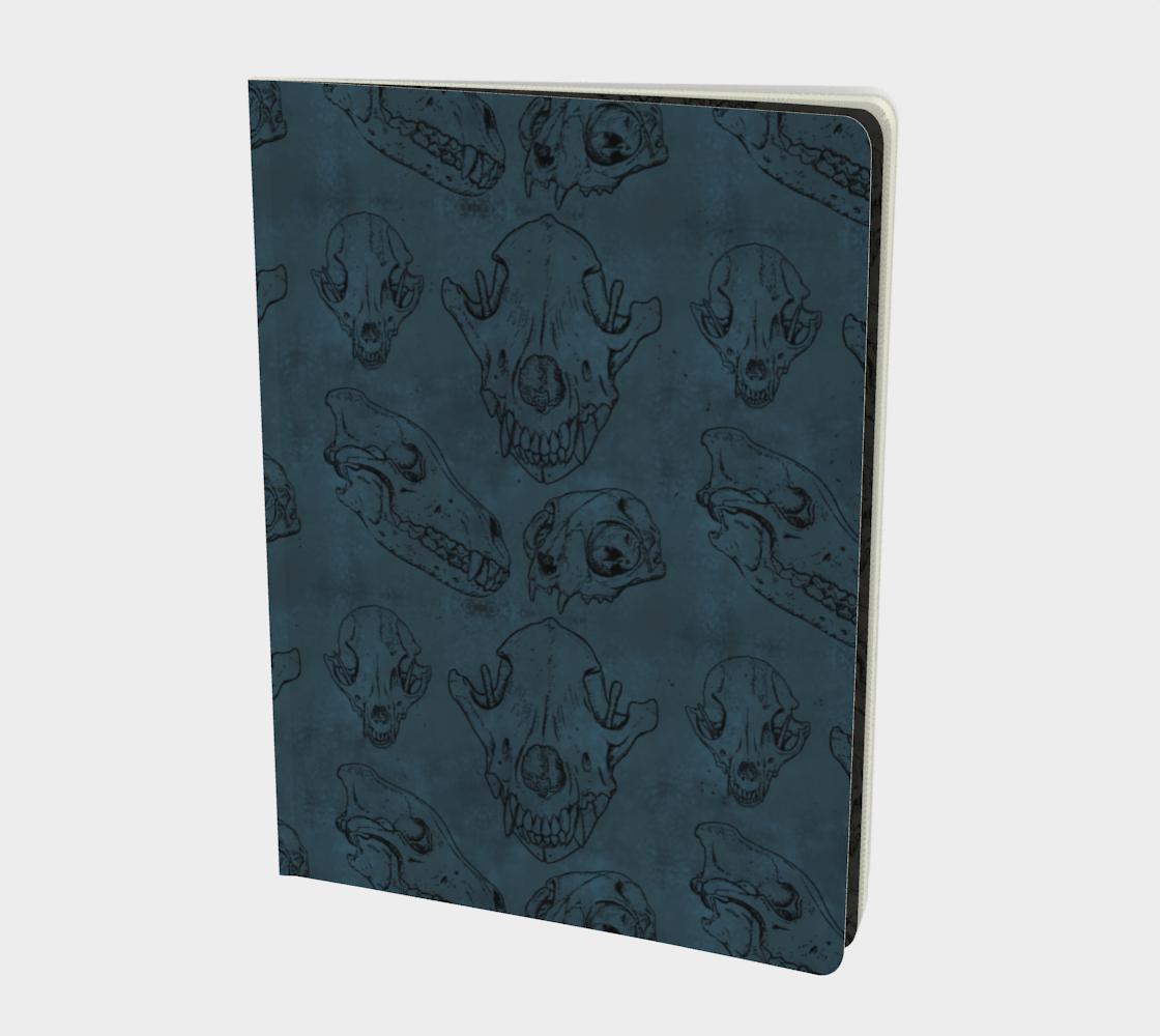 Osteomancy Notebook in Arsenic aperçu