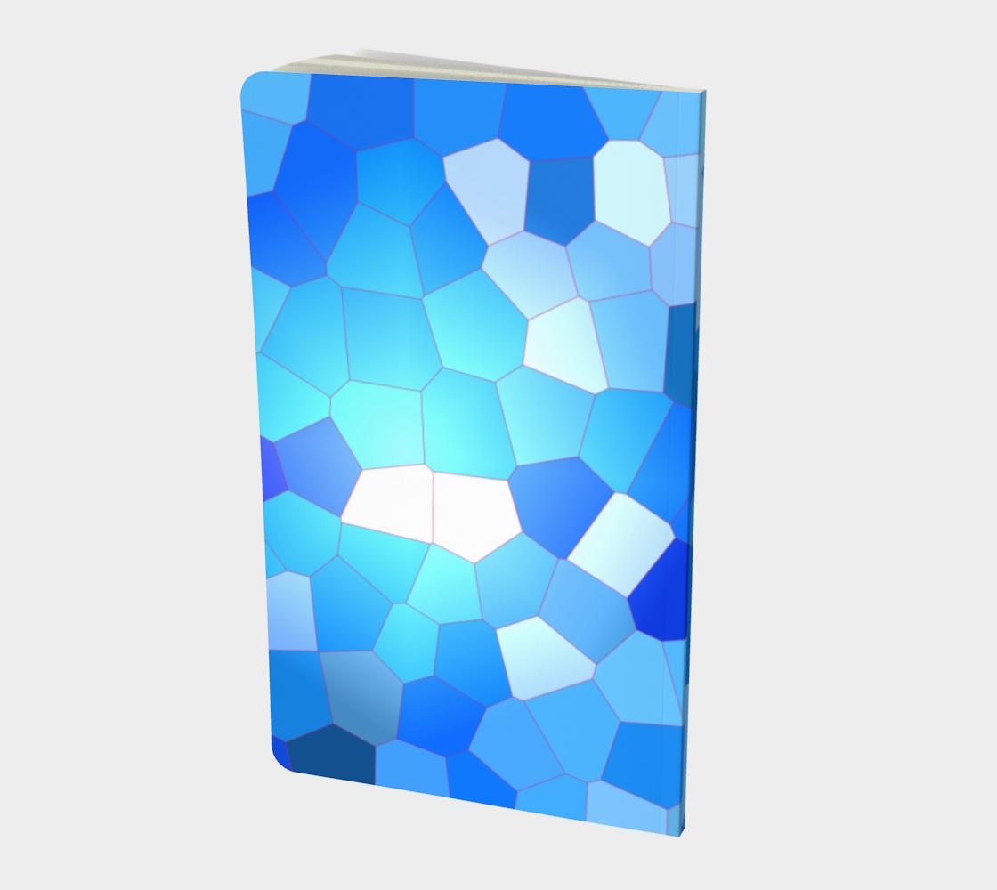 Aperçu de Blue Sky Abstract Pattern Notebook  #2