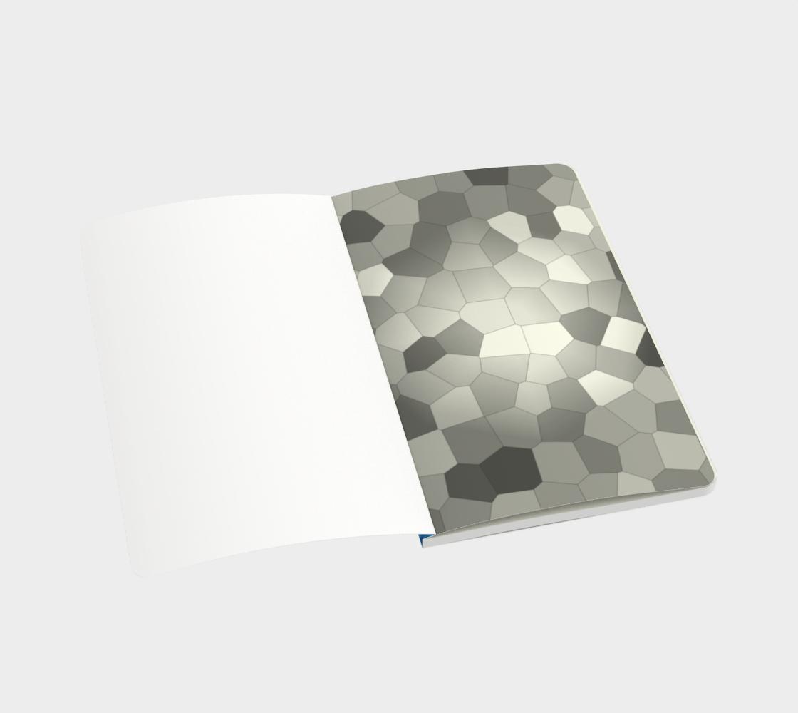 Aperçu de Blue Sky Abstract Pattern Notebook  #3