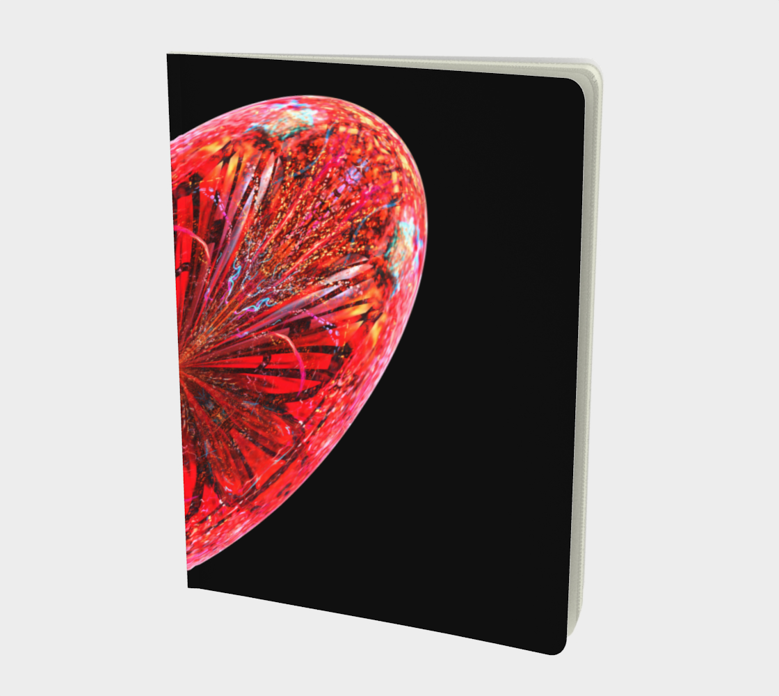 Large Full Heart Notebook preview