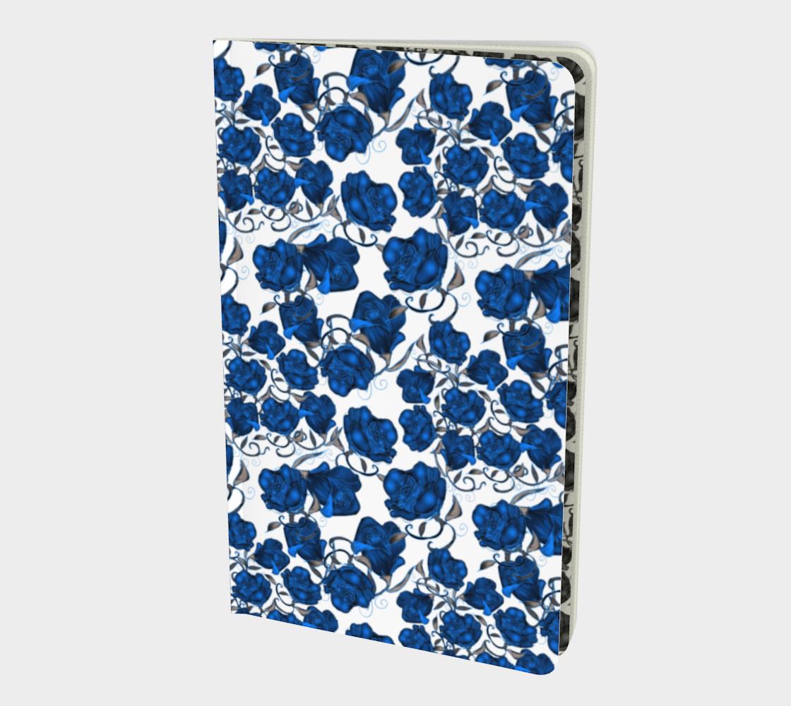 Aperçu de Blue Roses Notebook