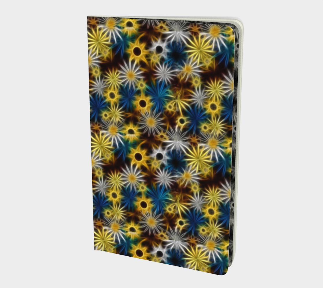 Aperçu de Blue and Yellow Daisies Notebook