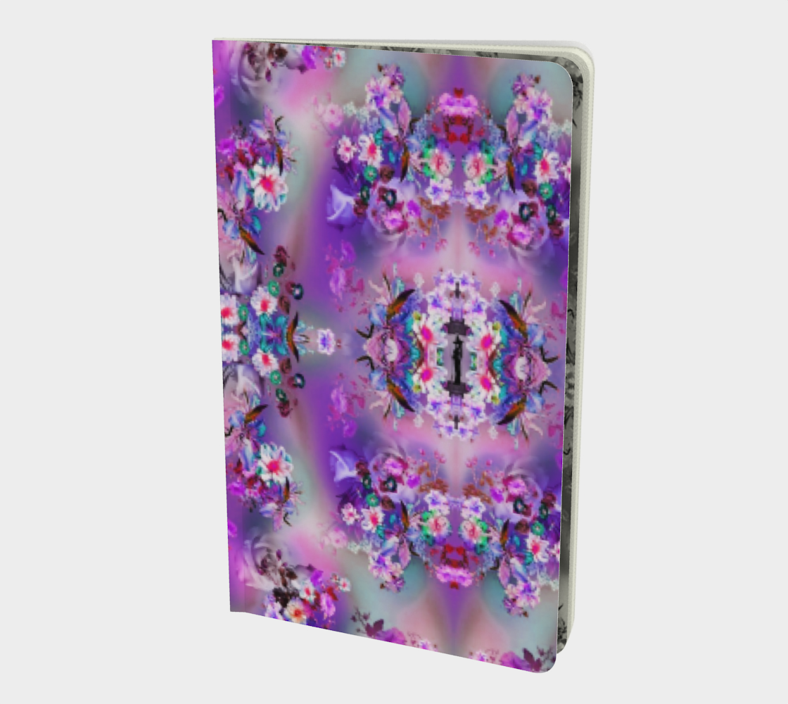 Pagan flowers notebook preview