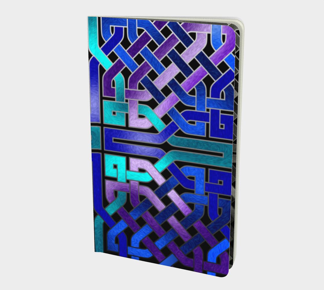 Aperçu de Blue Celtic Knot Notebook