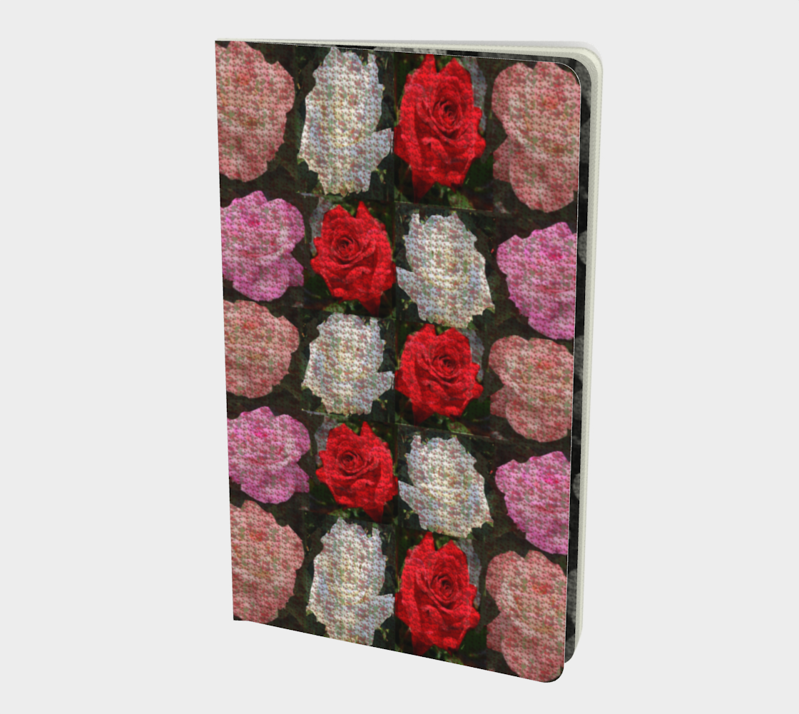 tearose notebook preview
