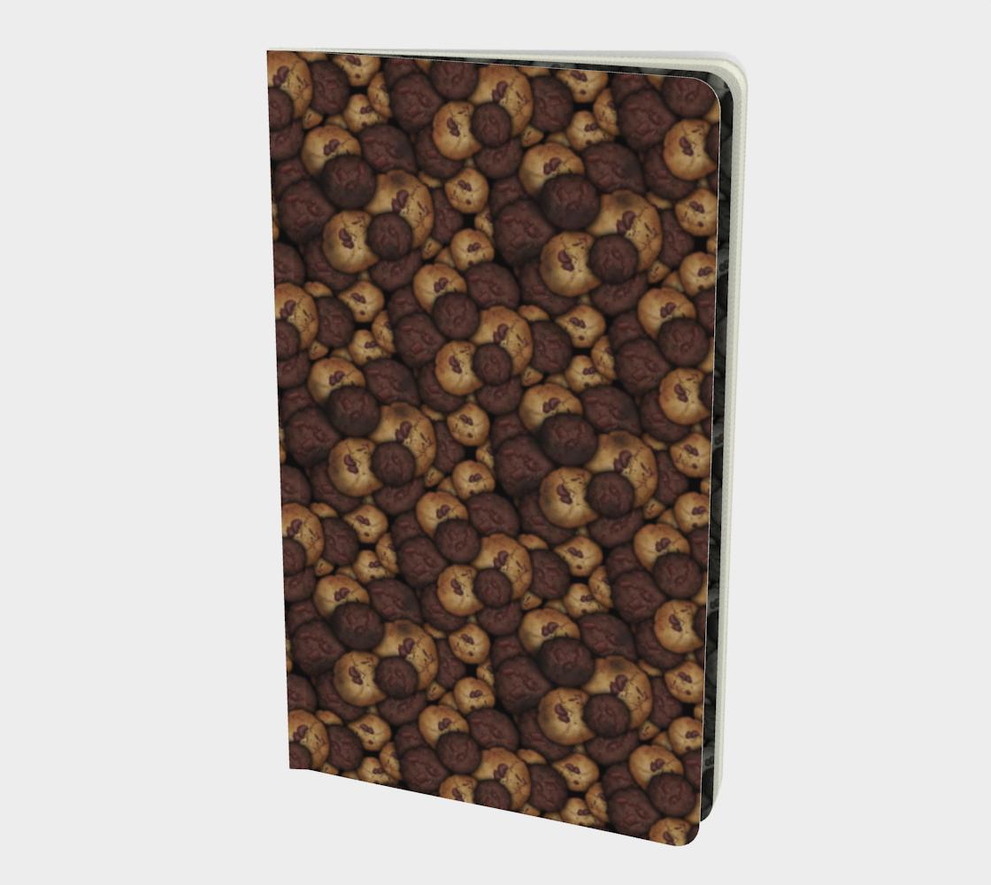 Aperçu de Chocolate Chip Cookies Pattern Notebook