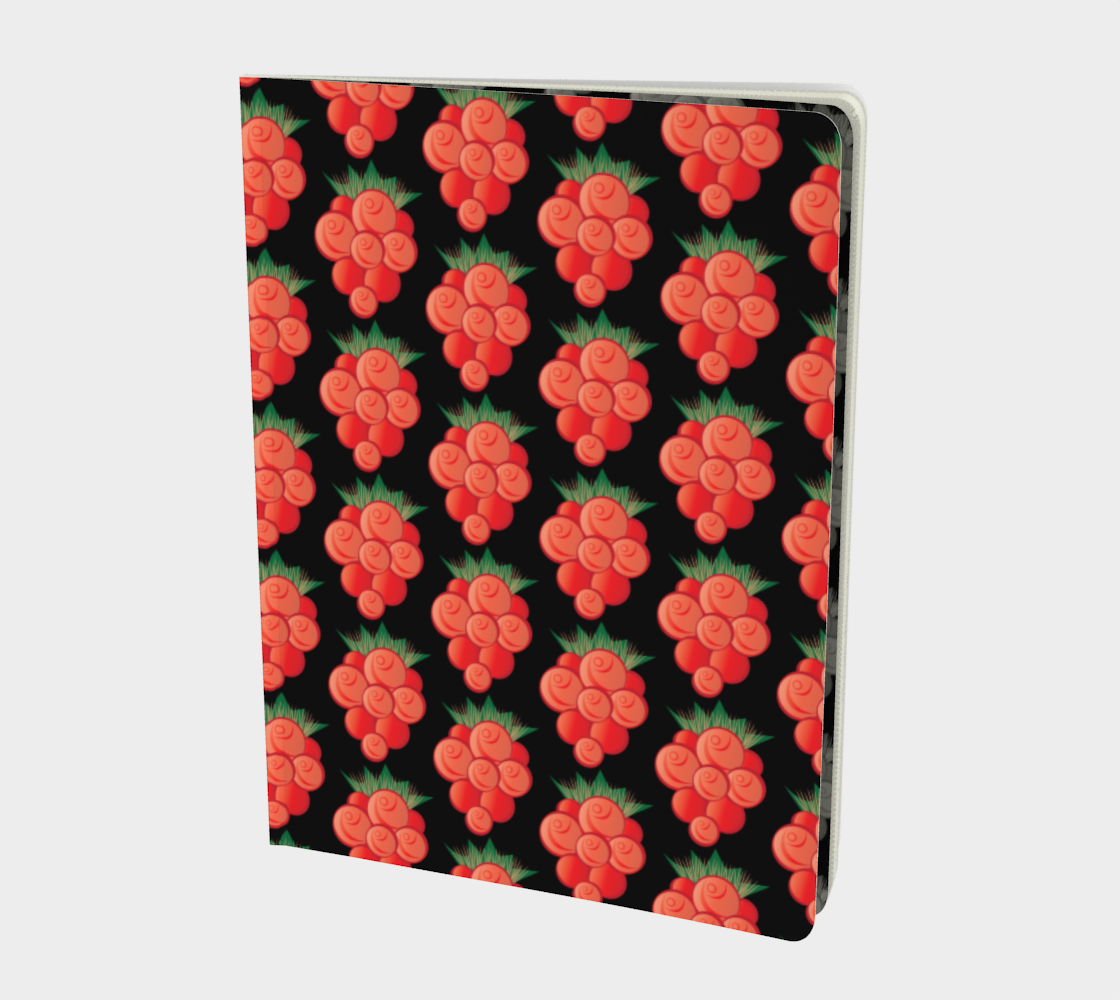 Salmonberry Notebook Large preview