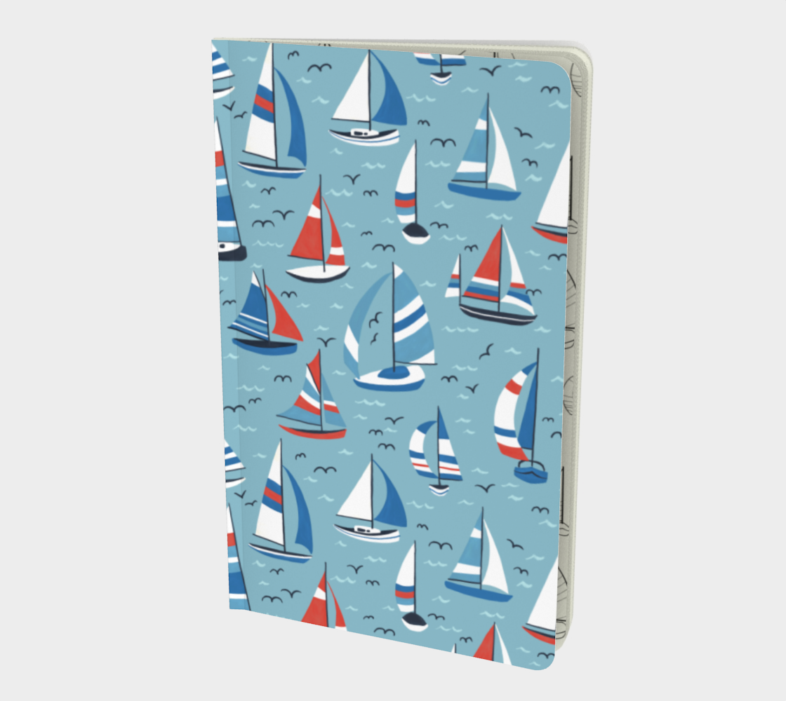 Sailboats - Small Notebook preview
