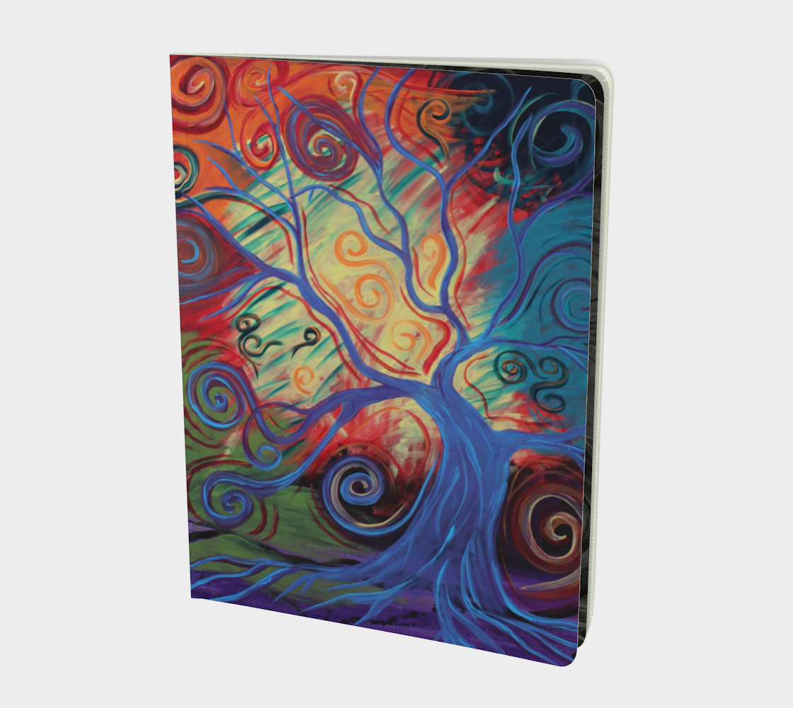Tree of a Colourful Life Journal preview