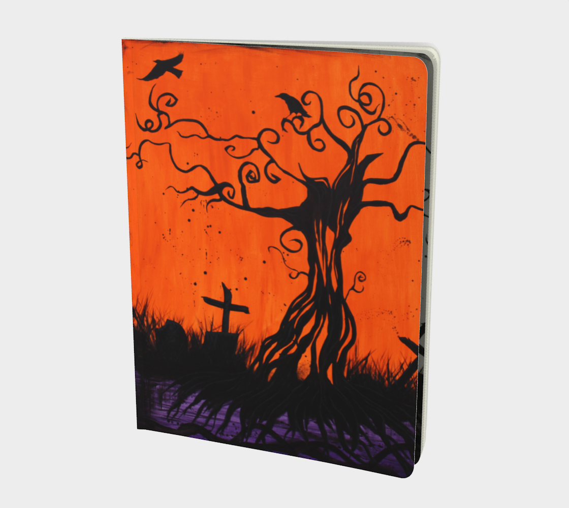 Samhain Tree of Remembrance Art Journal preview
