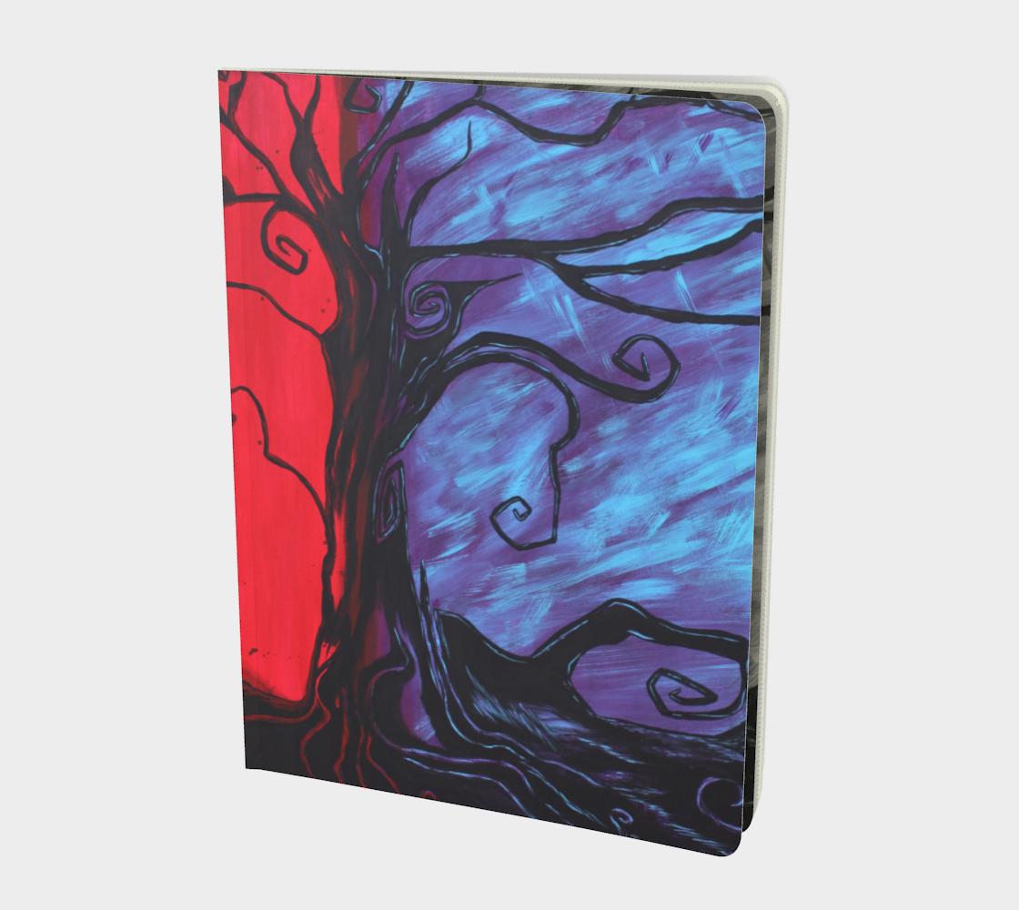Mystic Night Art Journal preview