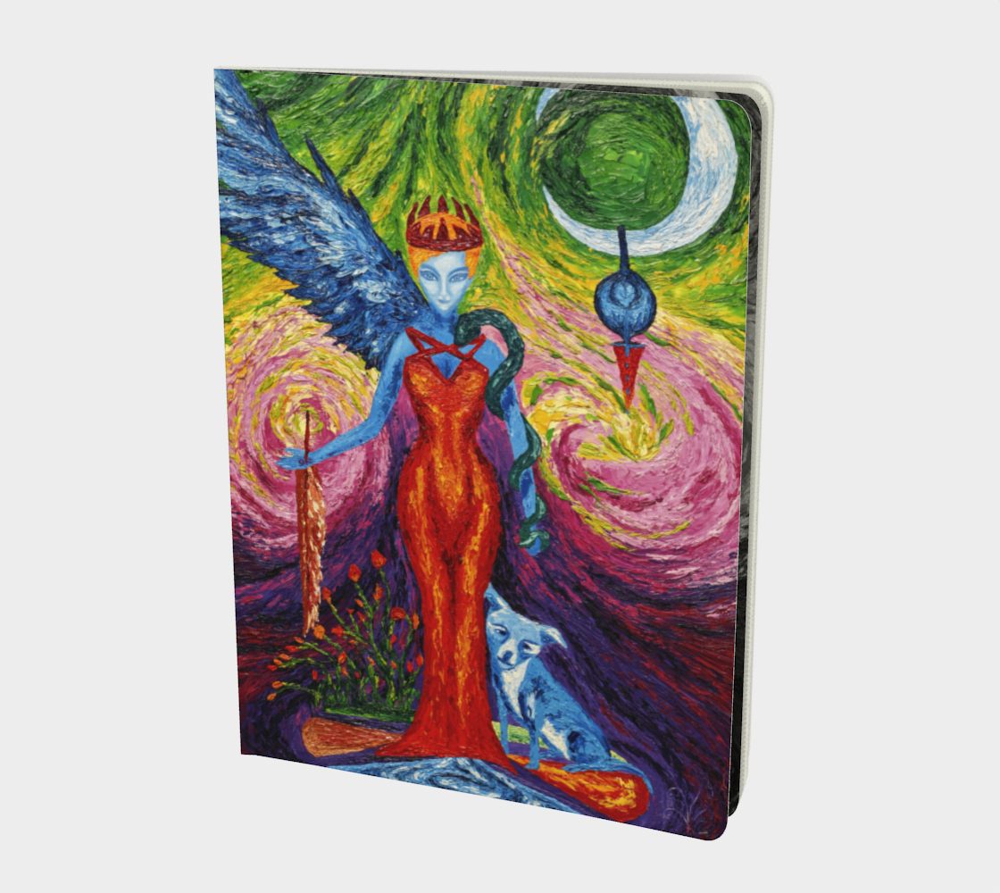 The Lost Valkyrie Large notebook preview