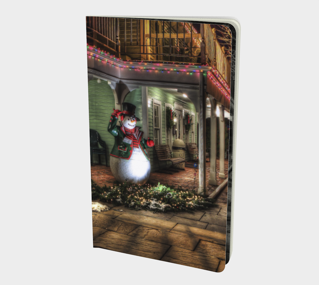 Christmas Street notebook preview