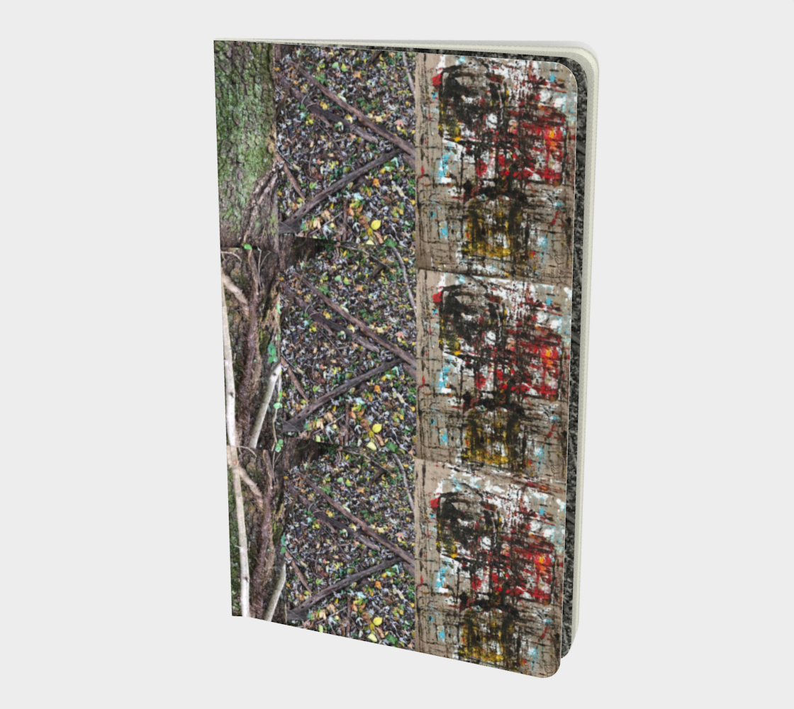 Woods and Vines Abstract Notebook preview