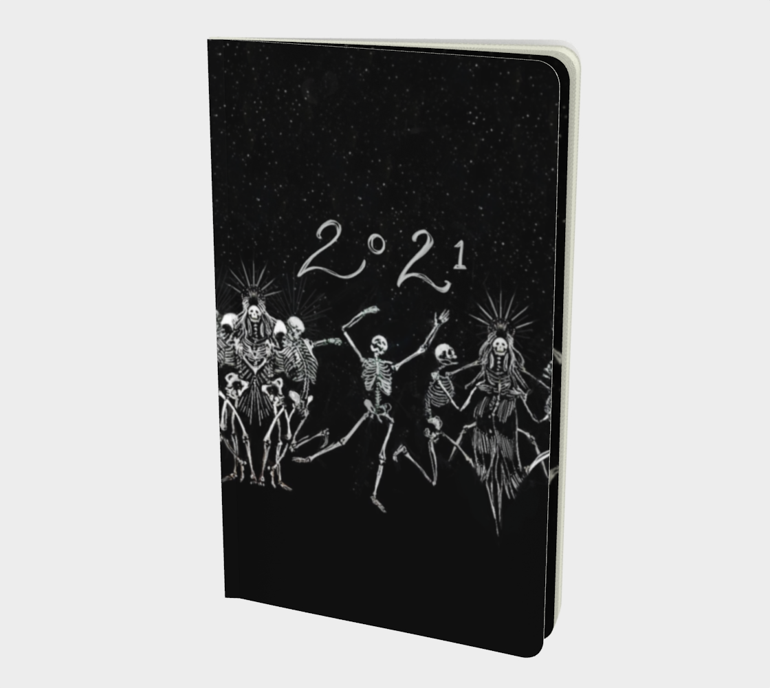 2021 Skeleton Dance Party Book preview