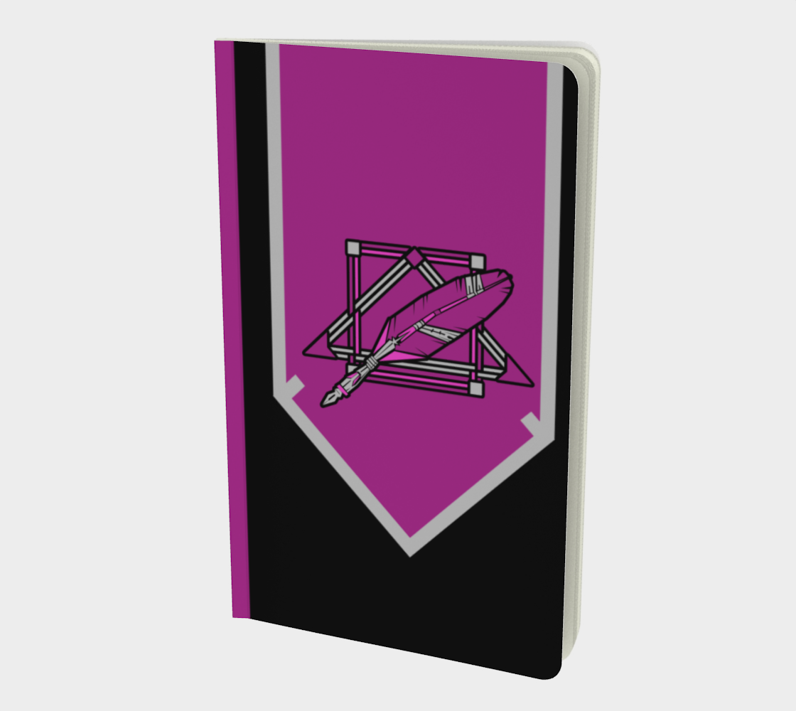Scribe-Feathers Logo Notebook preview