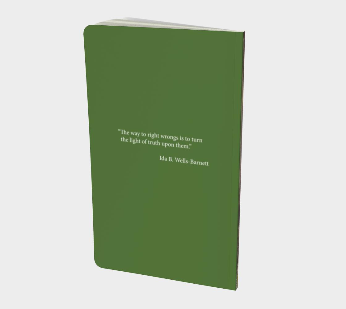 Inspiring Women Ida B Wells Notebook preview #2