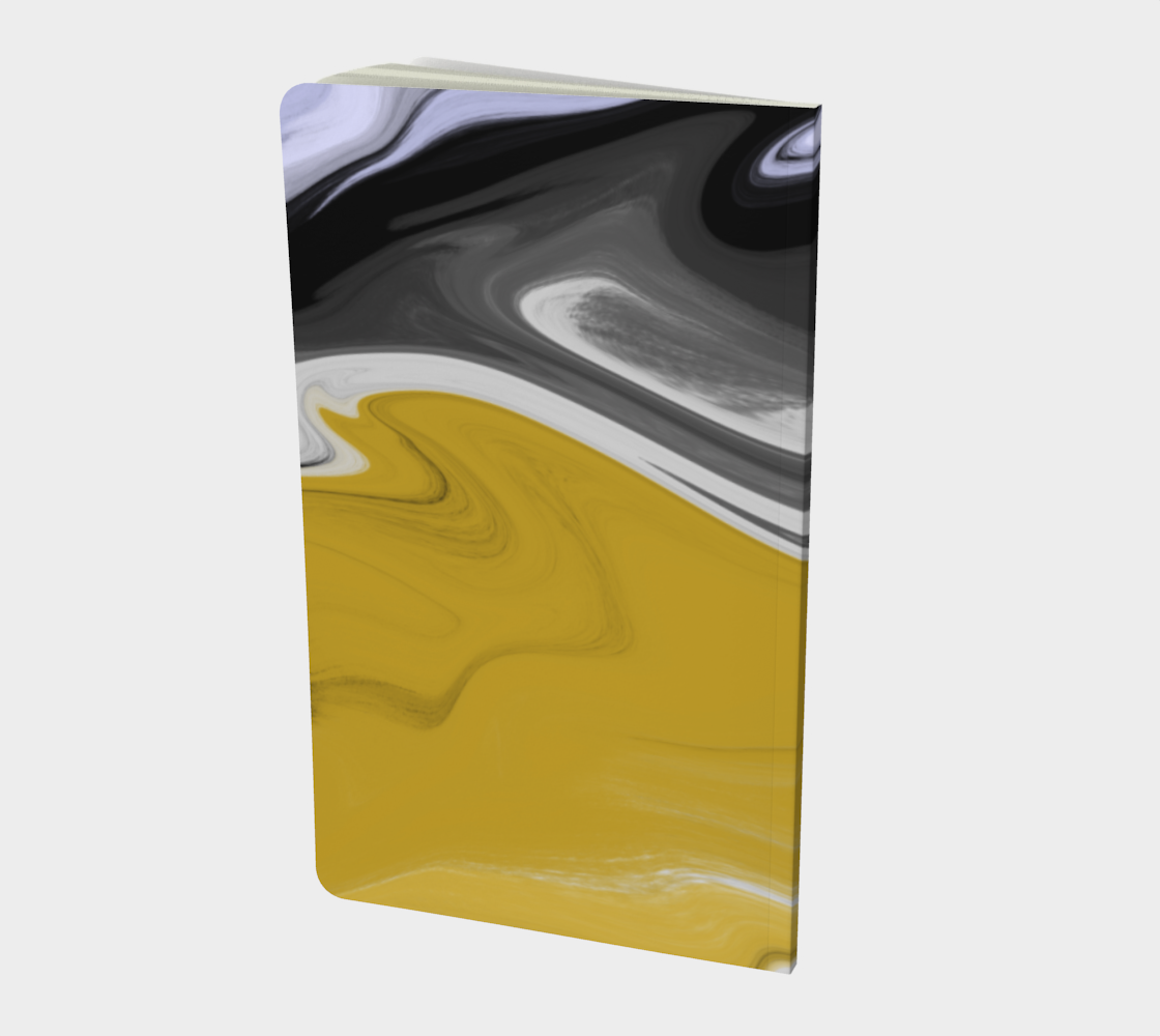 Liquid Black Gold Notebook preview #2