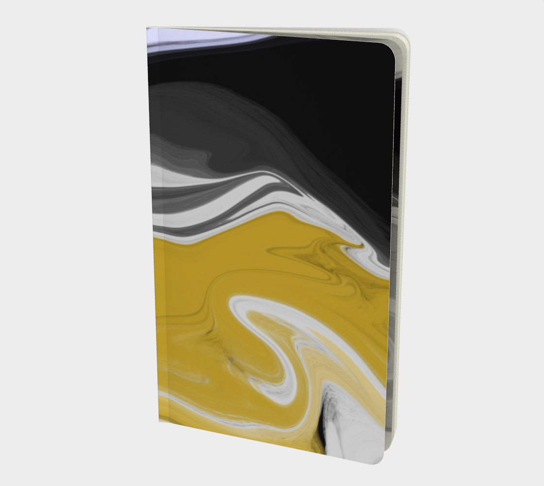 Liquid Black Gold Notebook preview #1