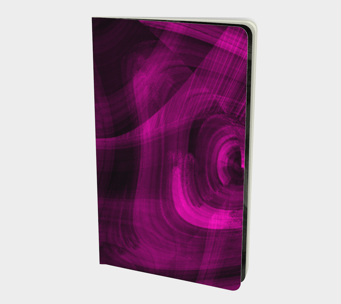 Pinkish Black Hole Notebook preview