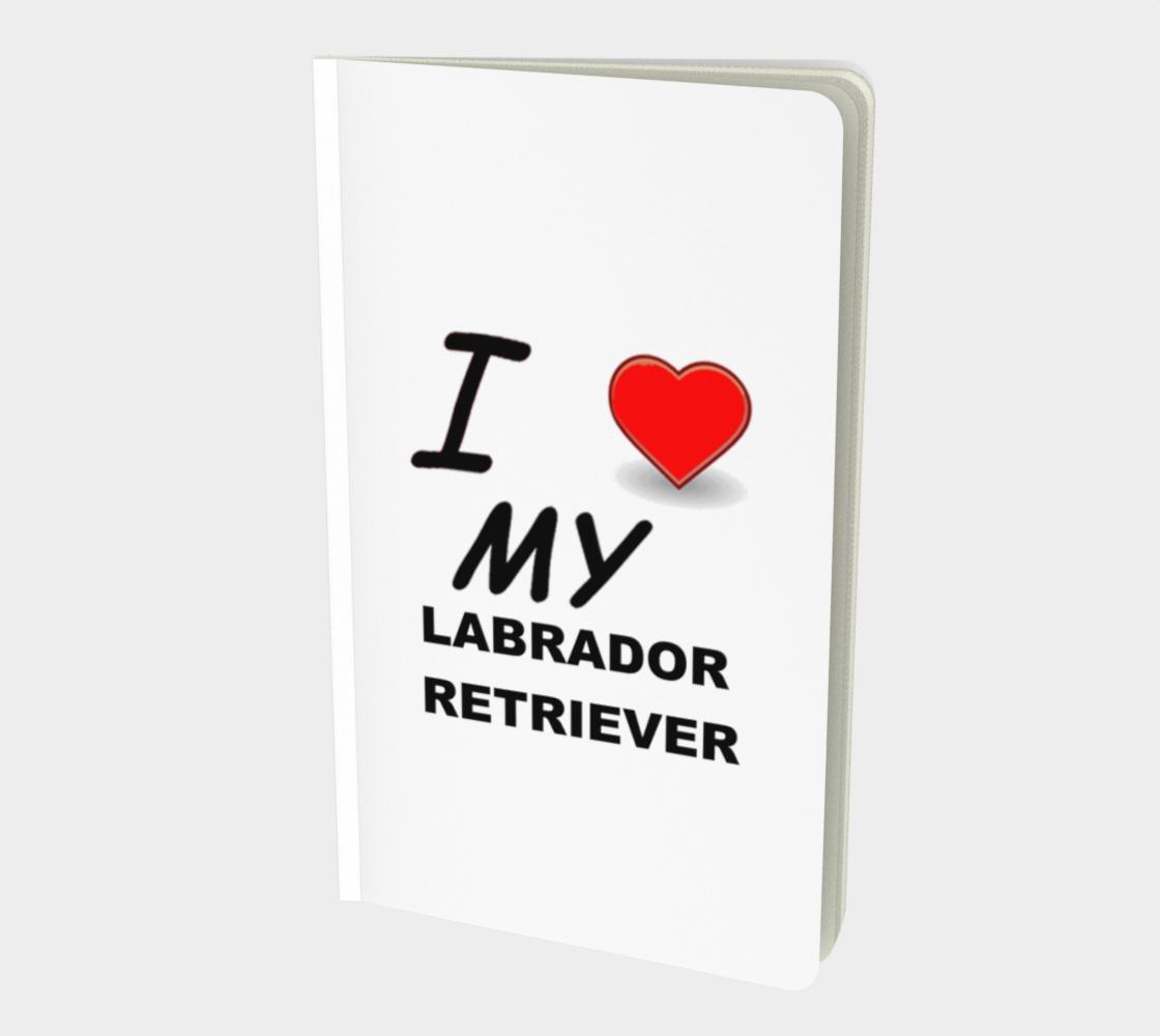 Labrador Retriever love notebook preview