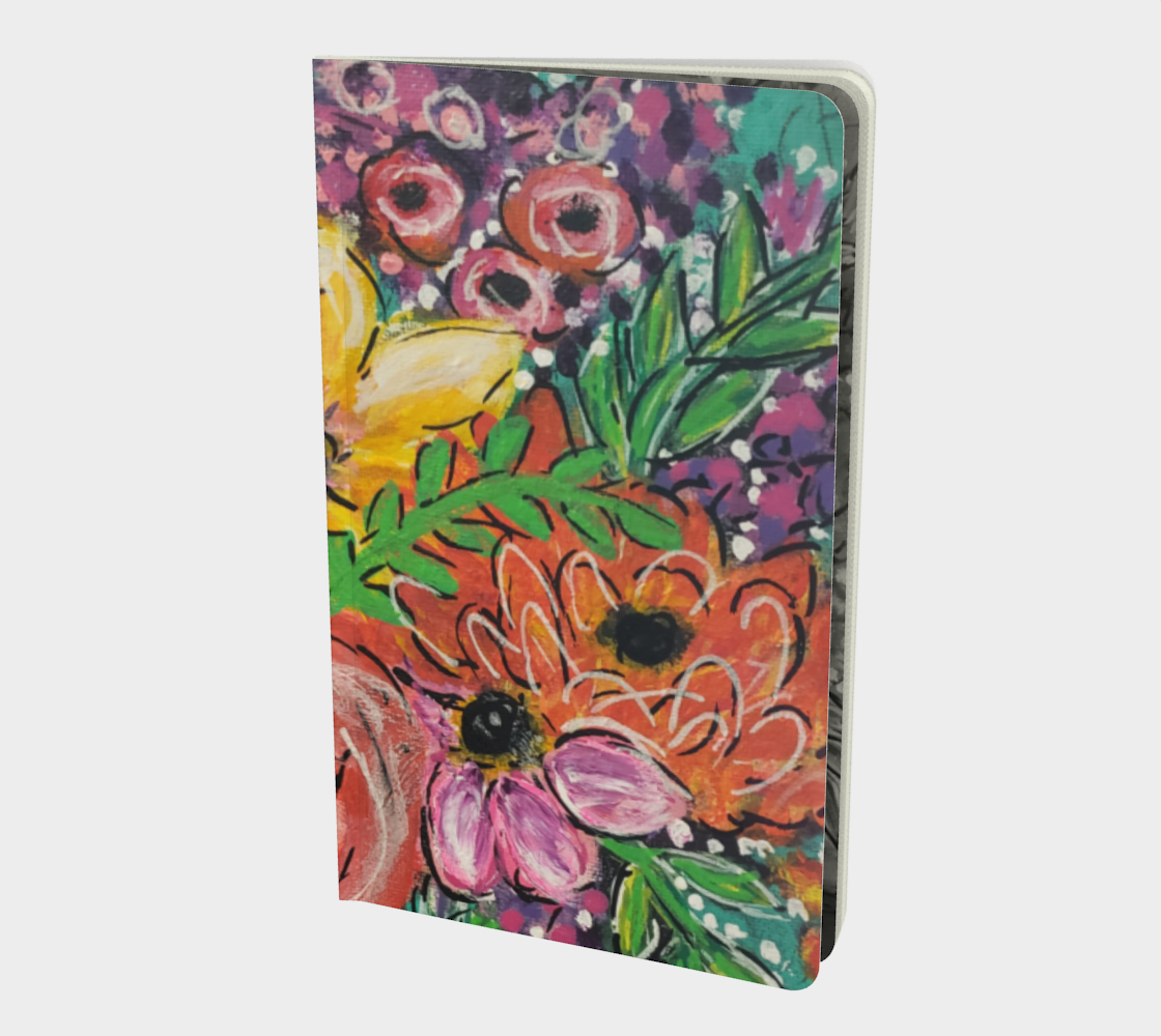 Funky Flowers Journal  preview