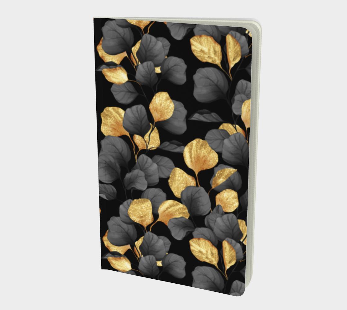 Aperçu de Black and gold leaves