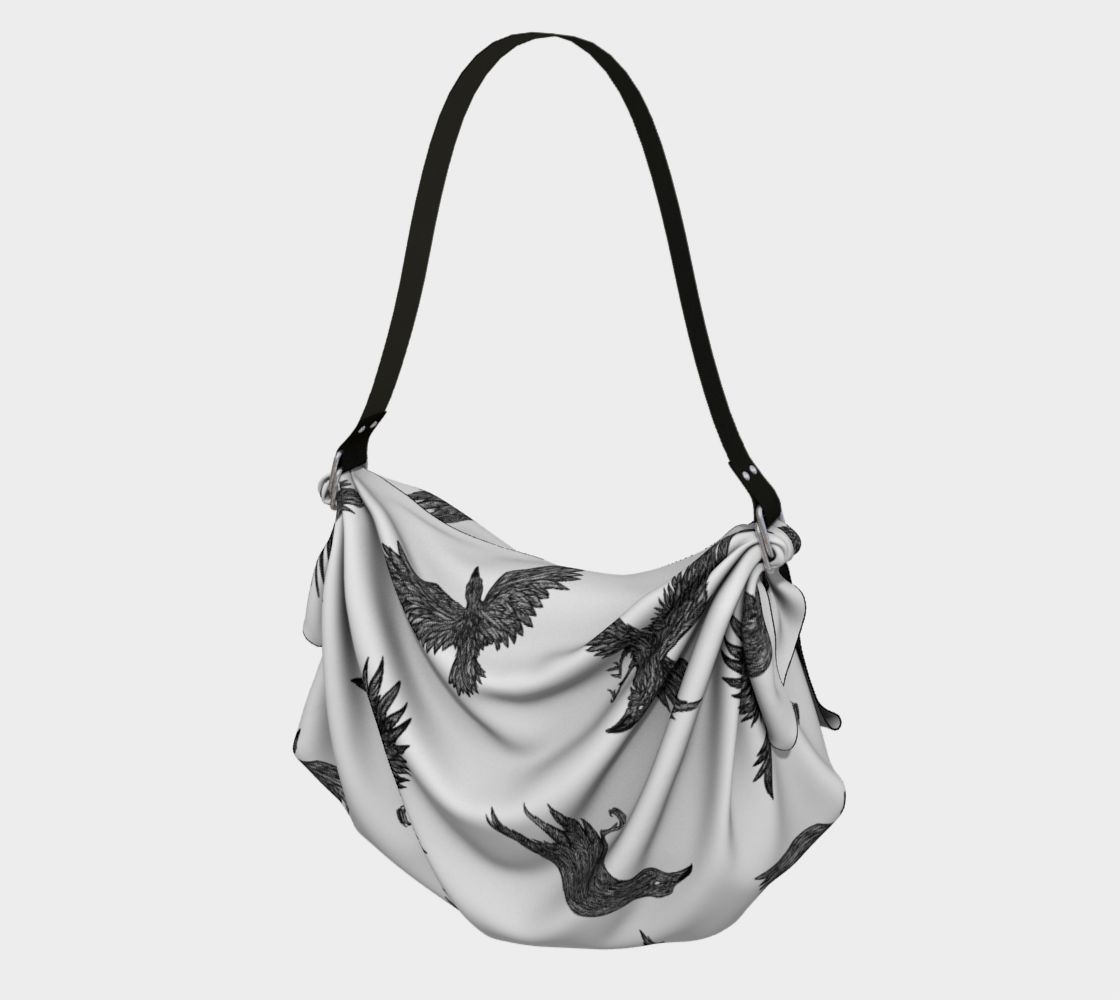 Origami Tote New Ravens White preview