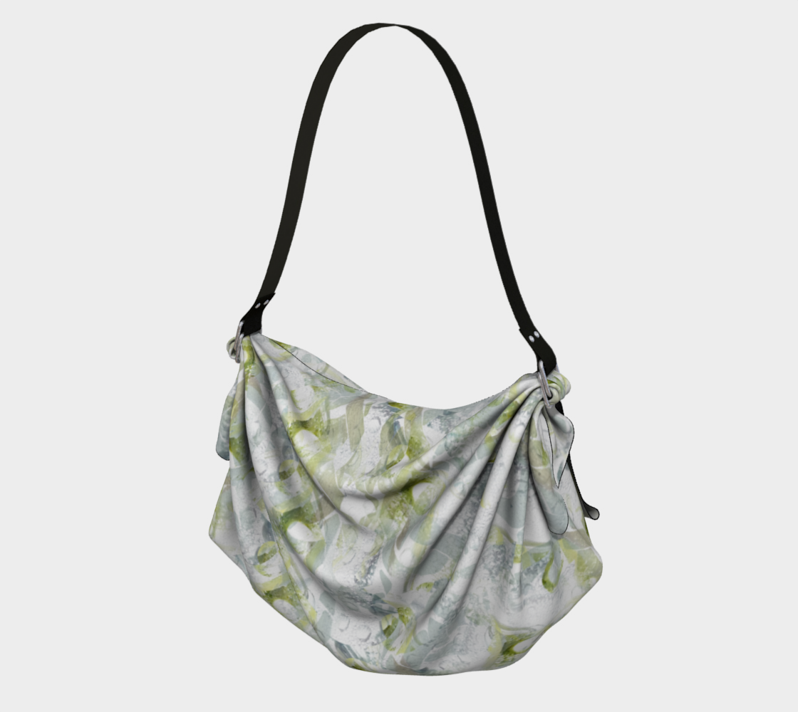 Spring Equinox Origami Tote by Laura Davis Art Studio preview